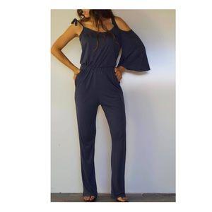 Pants - Super Comfy Navy Blue Jumpsuit